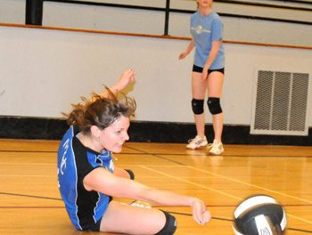 MSS senior girls experience the ups and downs of high school volleyball season