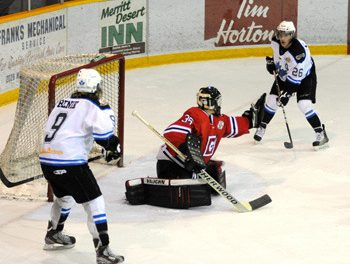 Cents' 2-1 double overtime loss to nationally top-ranked Vees just about as good as it gets