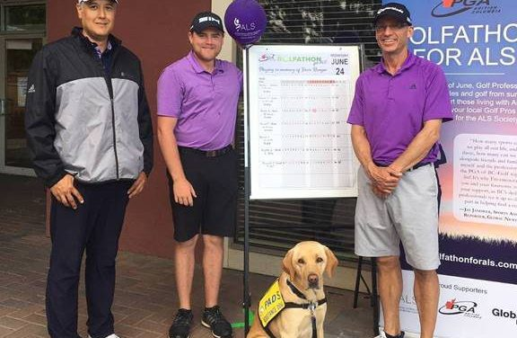 Pros golf sunrise to sunset for ALS