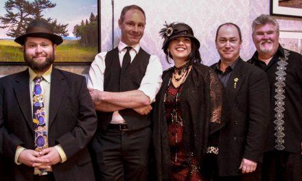 Jazz quartet jams at Curling Club