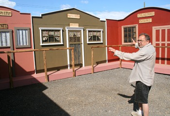 Western-themed set to be used for local tour