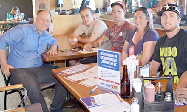 Local Sensible BC canvassers hit the streets
