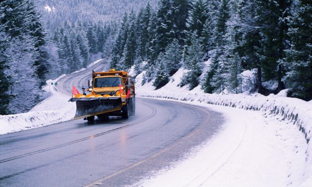 Heavy snowfall Wednesday night on Merritt highways