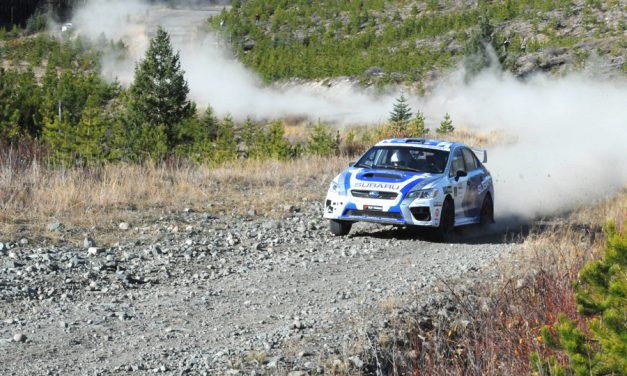 L'Estage wins Pacific Forest Rally for eighth time