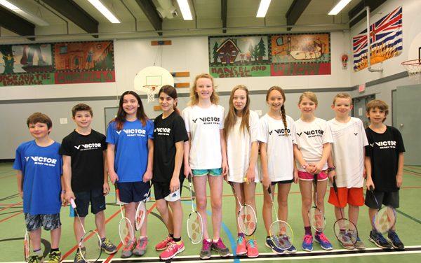Bench badminton team enjoys smashing success in Kelowna