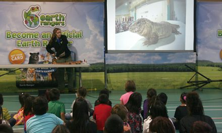Students connect with animal conservation