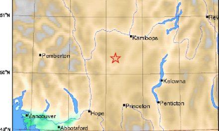 Earthquake shakes Merritt