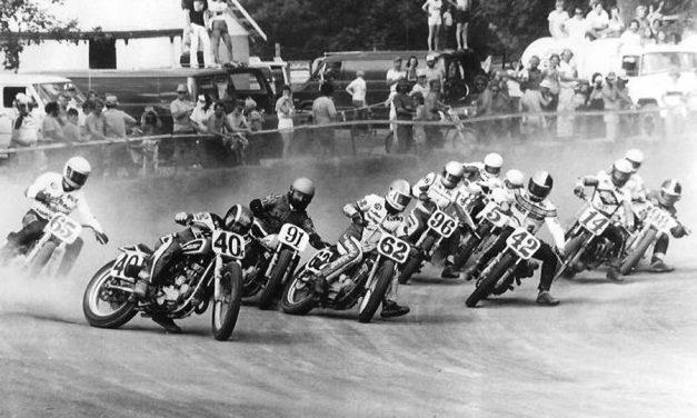 Flat track motorcycle racing comes to Merritt Speedway