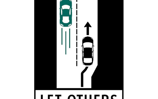 Rules for driving in the left lane clarified