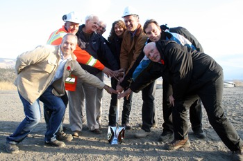 Huldra Silver breaks ground at Craigmont site
