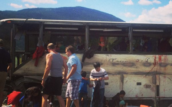 Update: 21 people injured in Coquihalla bus crash released from hospital