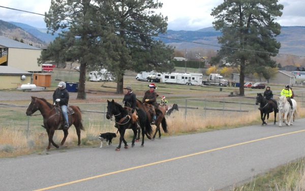 Back Country Horsemen and N.V. Riding Club team up for toy ride