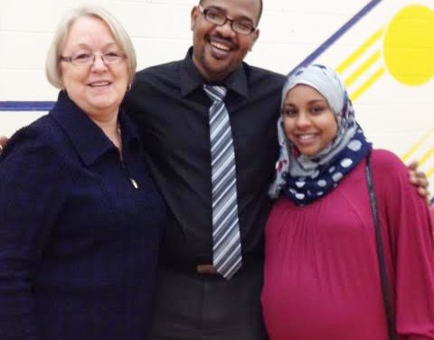 Dr. Saeed and his wife welcomed to Logan Lake