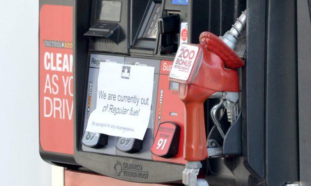 Gas shortage at Petro-Canada in Merritt