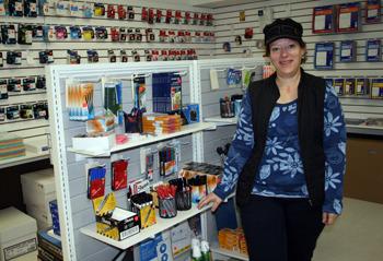 Merritt Printing meets demand for office supplies, souvenirs