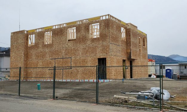 Firehall expansion well underway