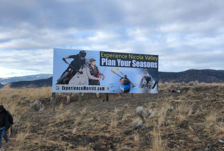 New billboards promote Nicola Valley tourism