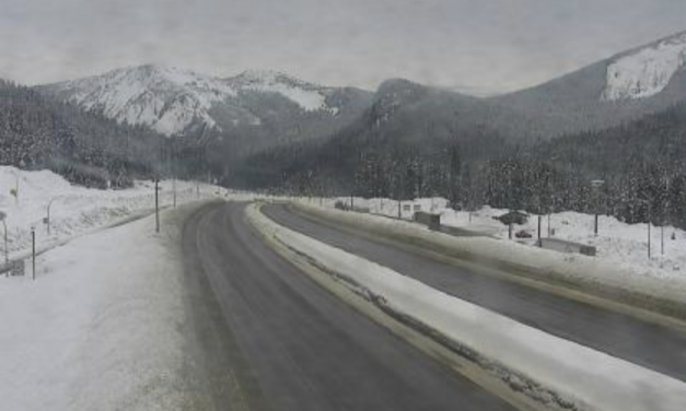 Heavy snowfall expected on Coquihalla and Connector Monday evening